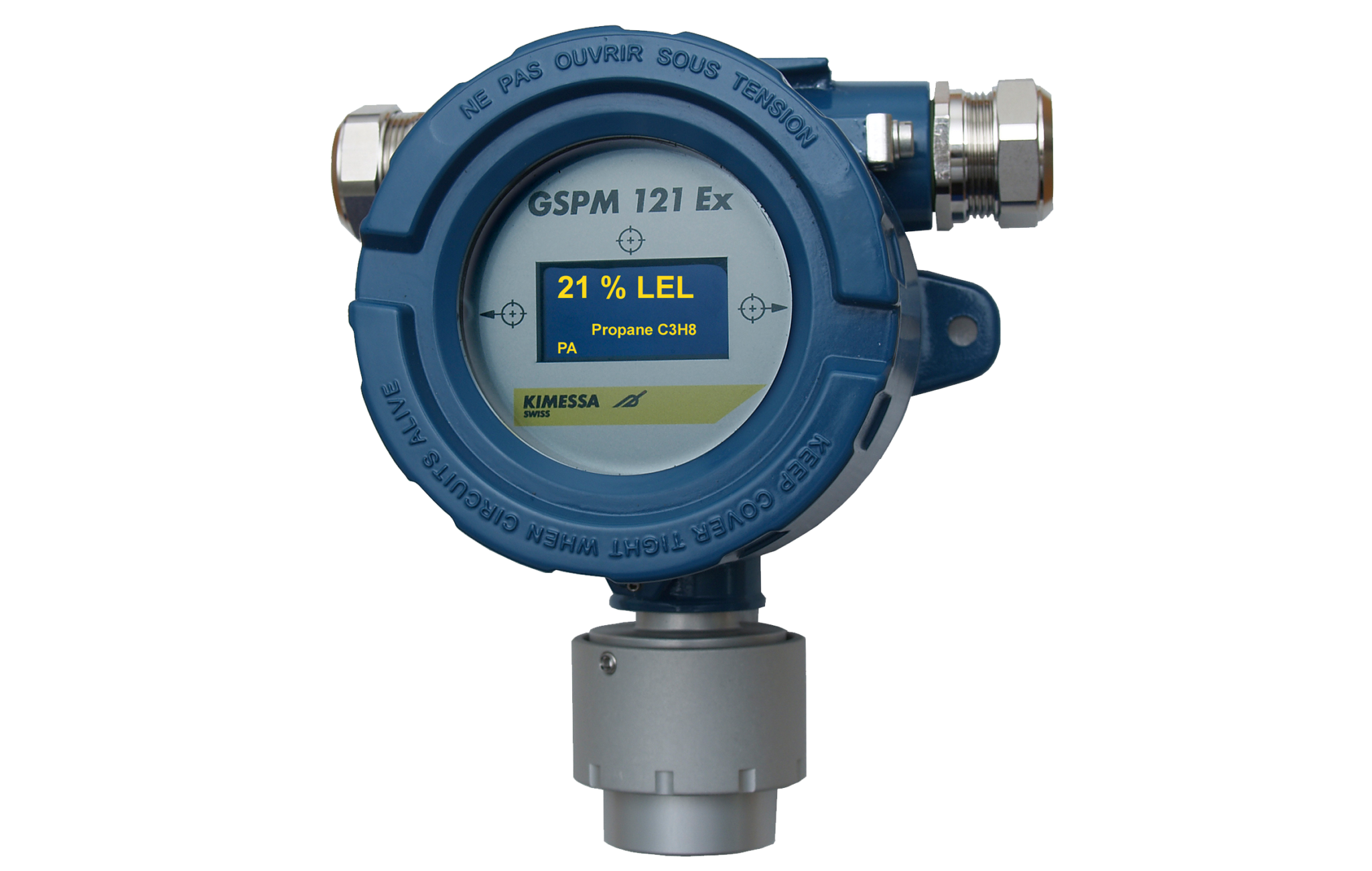 // Final Kimessa EXD gas detector